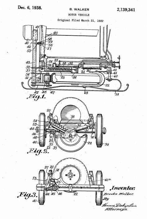 U.S. Patent Office fifth wheel parking device