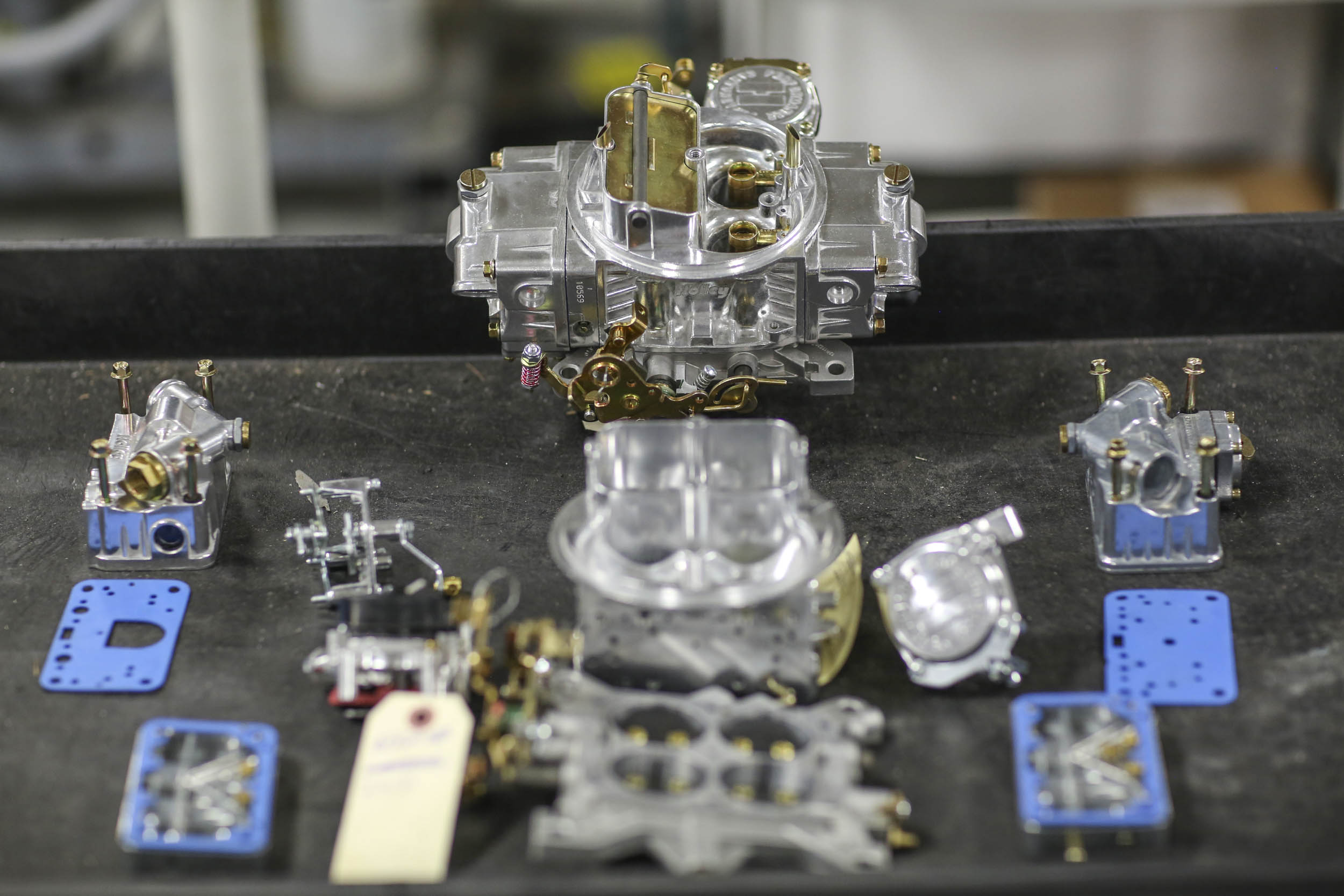 How a Holley four-barrel carburetor is made thumbnail