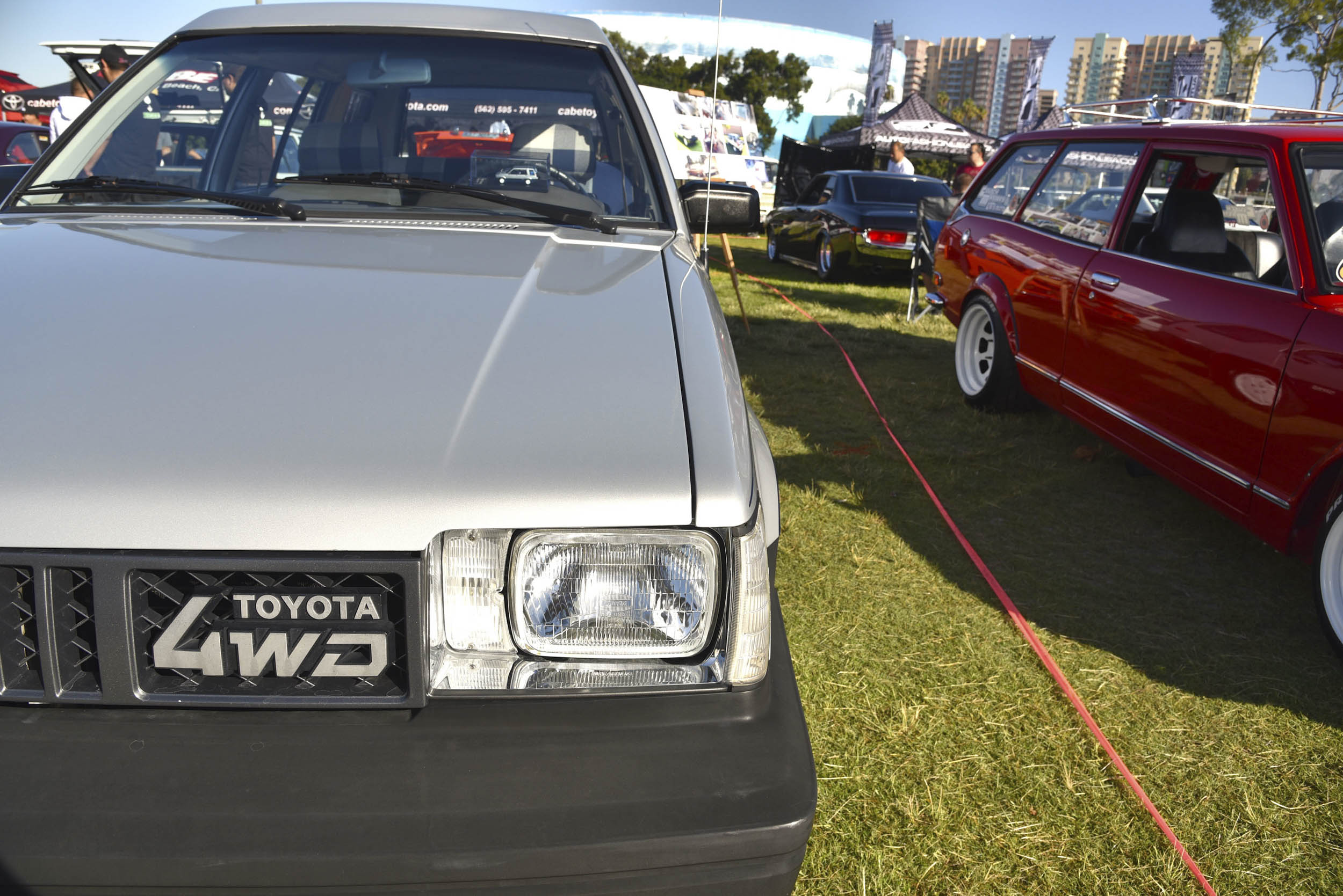 Toyota 4WD at JCCS