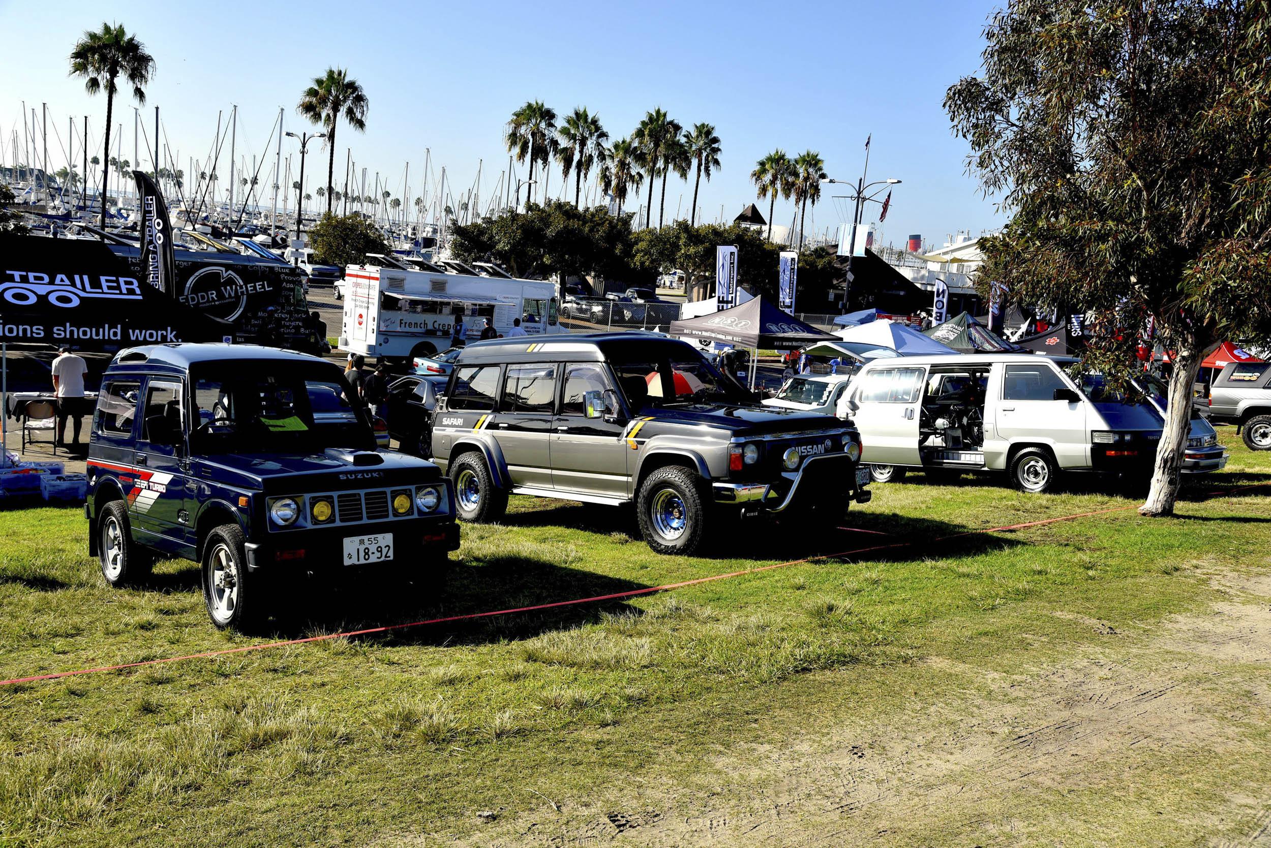 SUVs at JCCS
