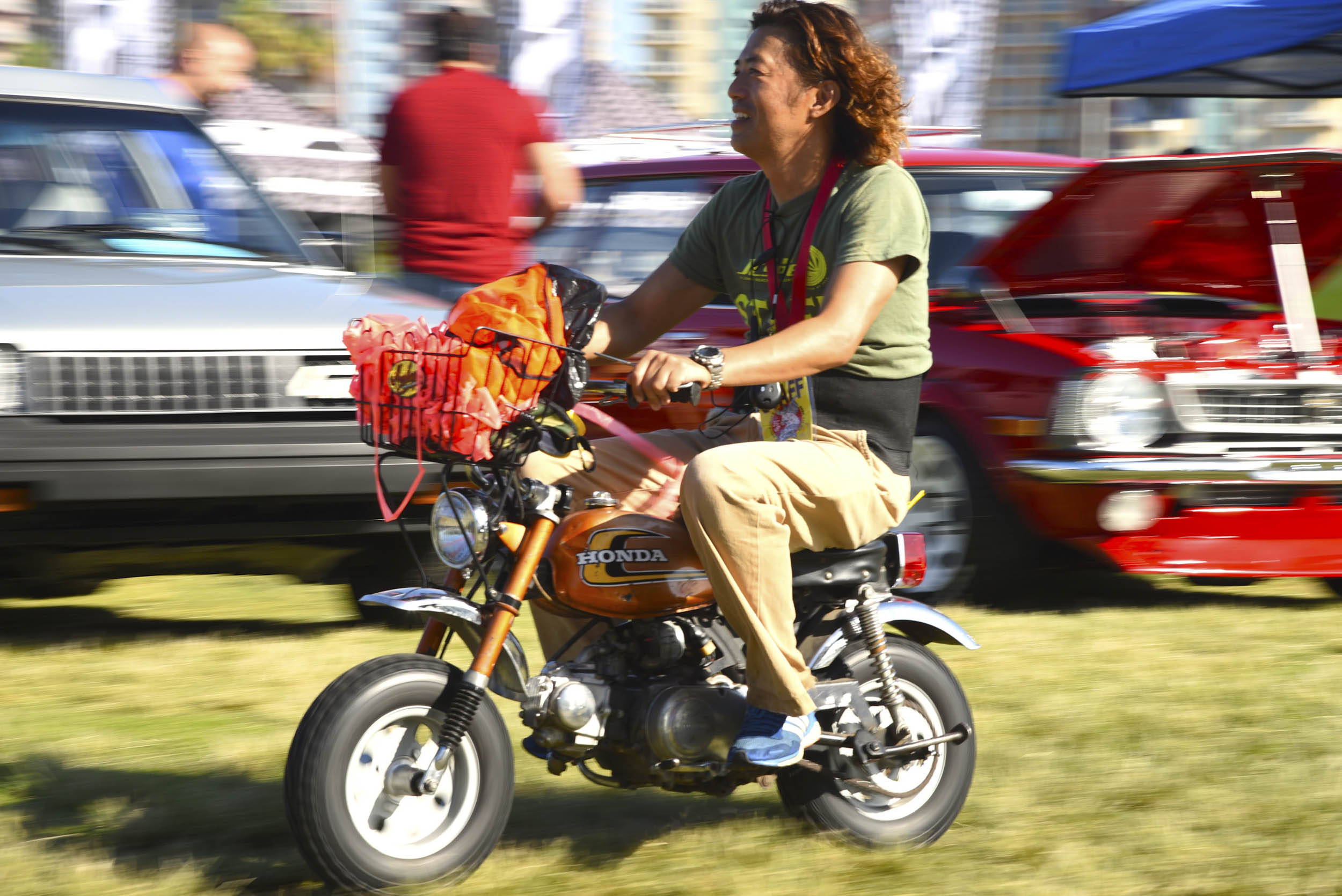 Honda mini bike at JCCS