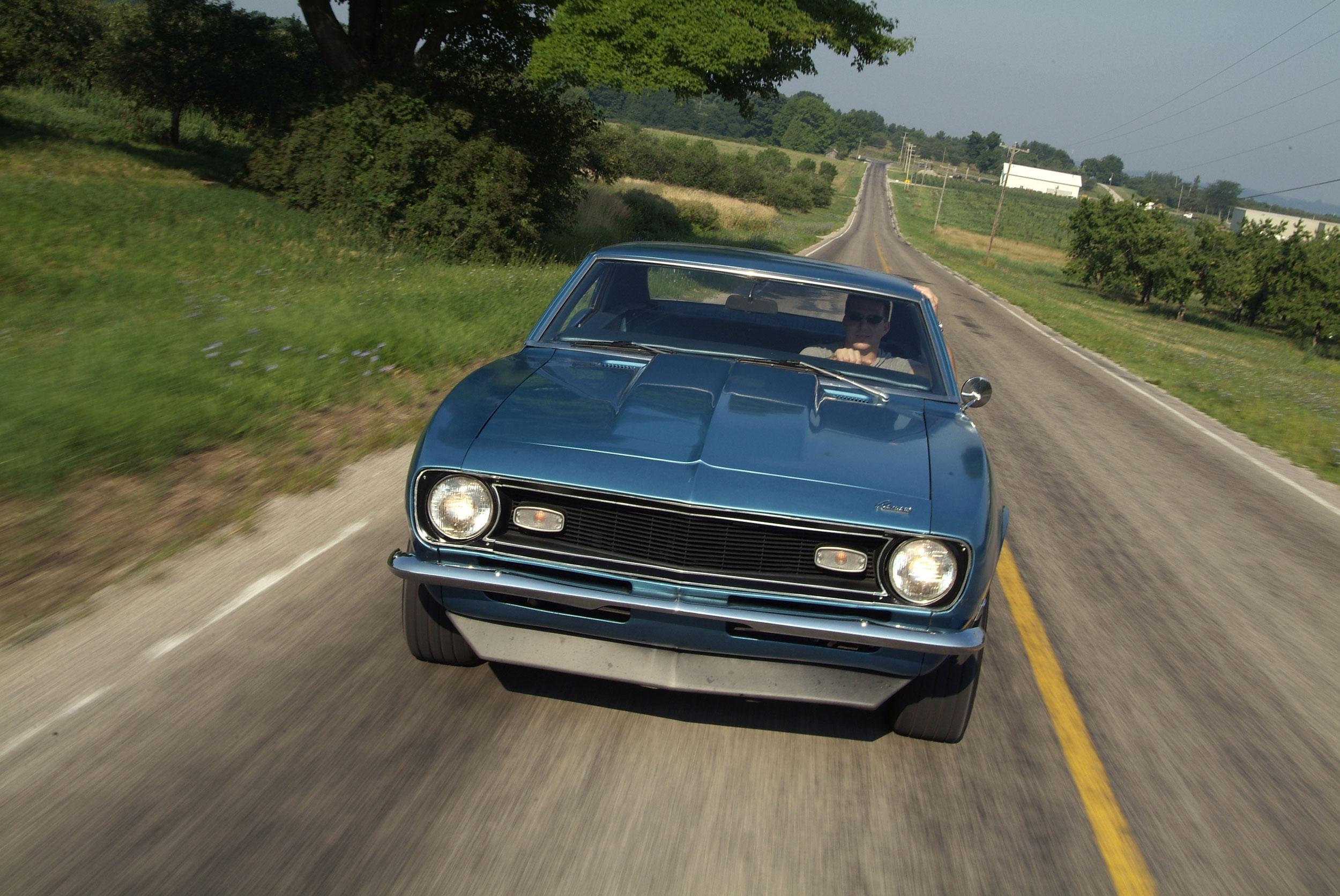 1968 Chevrolet Camaro driving