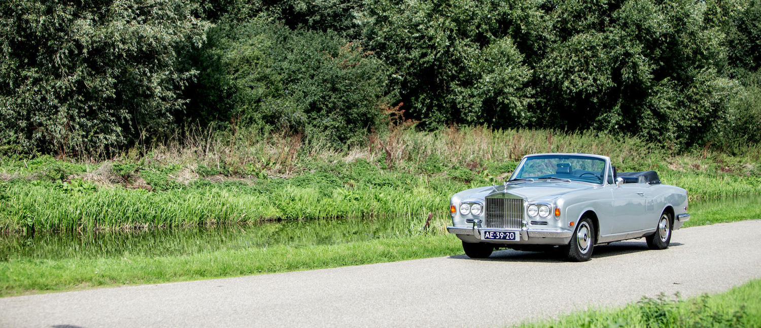 1970 Rolls-Royce Silver Shadow Convertible front 3/4