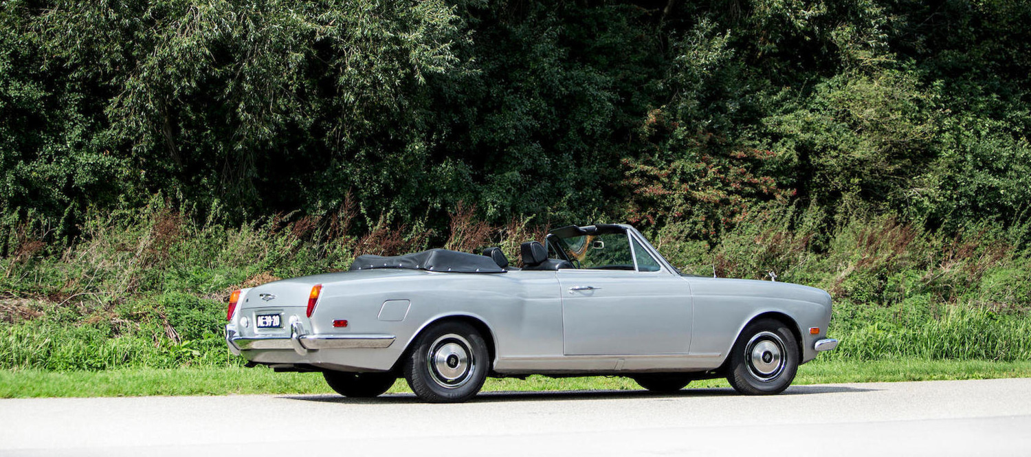 1970 Rolls-Royce Silver Shadow Convertible rear 3/4
