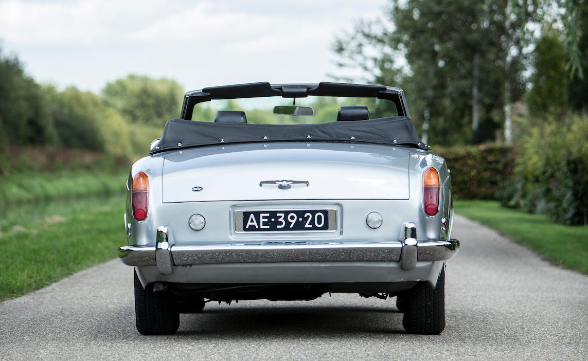 1970 Rolls-Royce Silver Shadow Convertible rear view