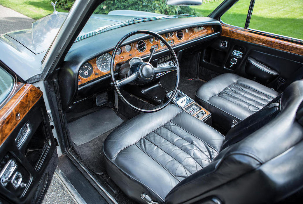 1970 Rolls-Royce Silver Shadow Convertible interior