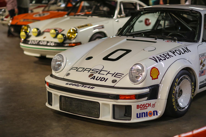 Porsche Petersen vault 911 race car