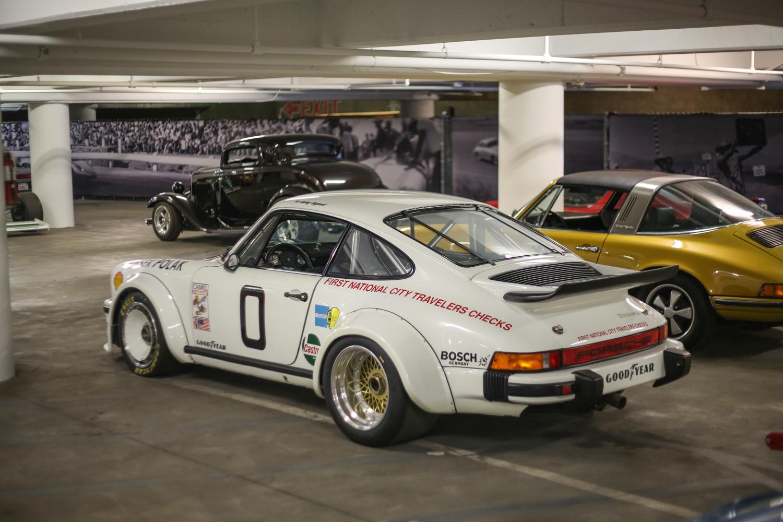 Porsche Petersen vault wide fender race car