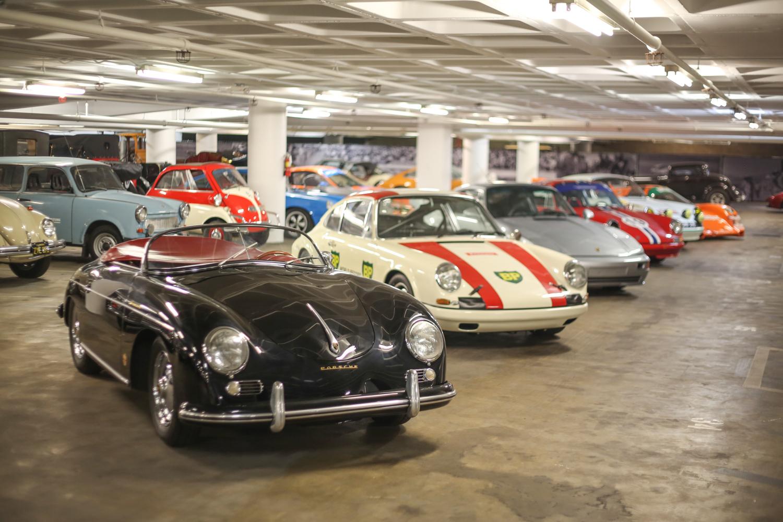 Porsche Petersen vault black 356 speedster