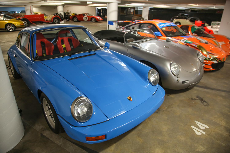 porsche petersen vault blue 911