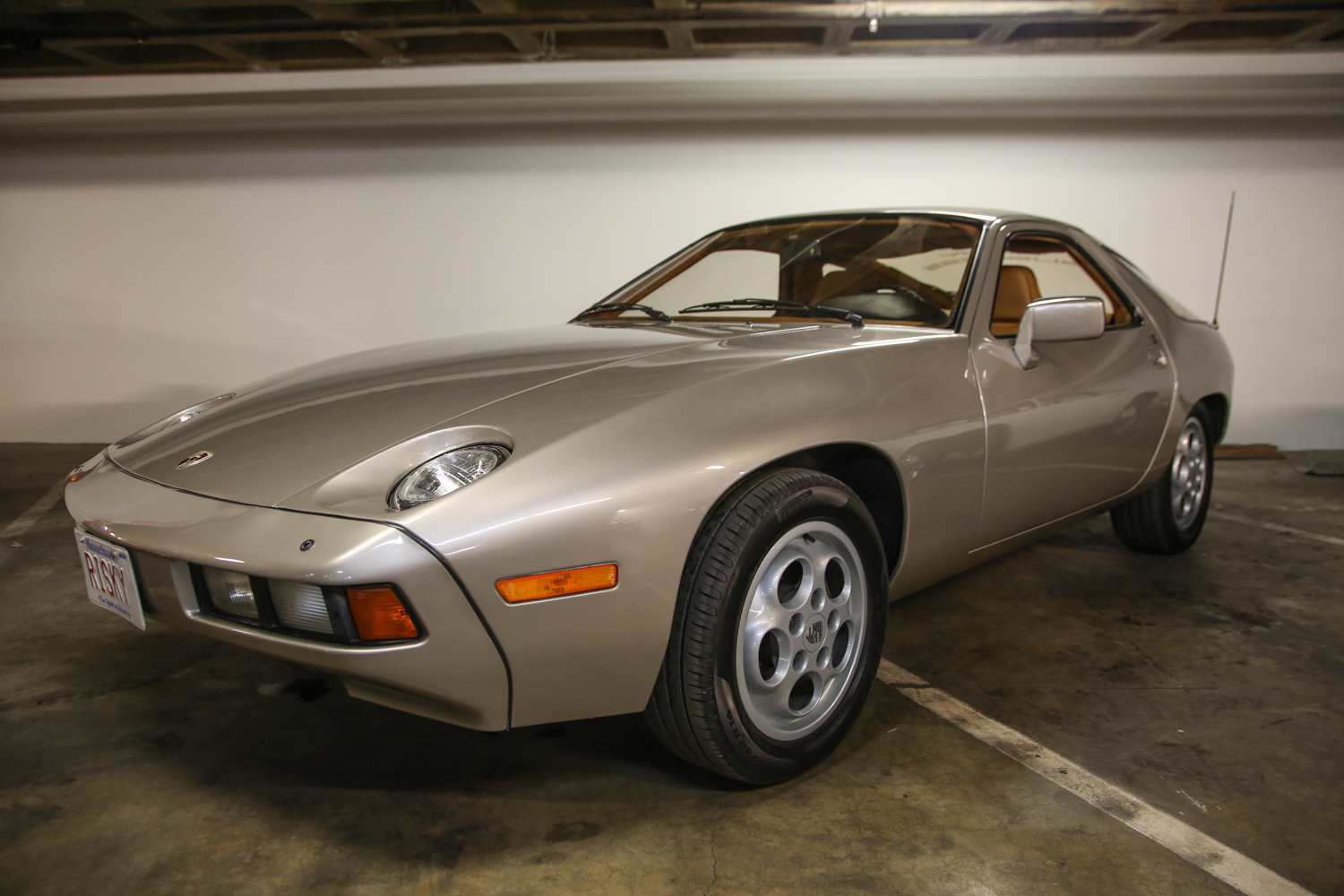 A 928 used in the filming of the 1983 Tom Cruise film Risky Business was in the Vault on several of our last few visits.