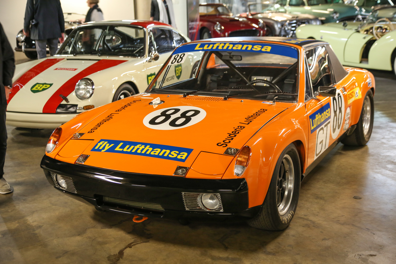 Another rare car, this 914-6 took fourth place in its class at the 24 Hours of Le Mans.