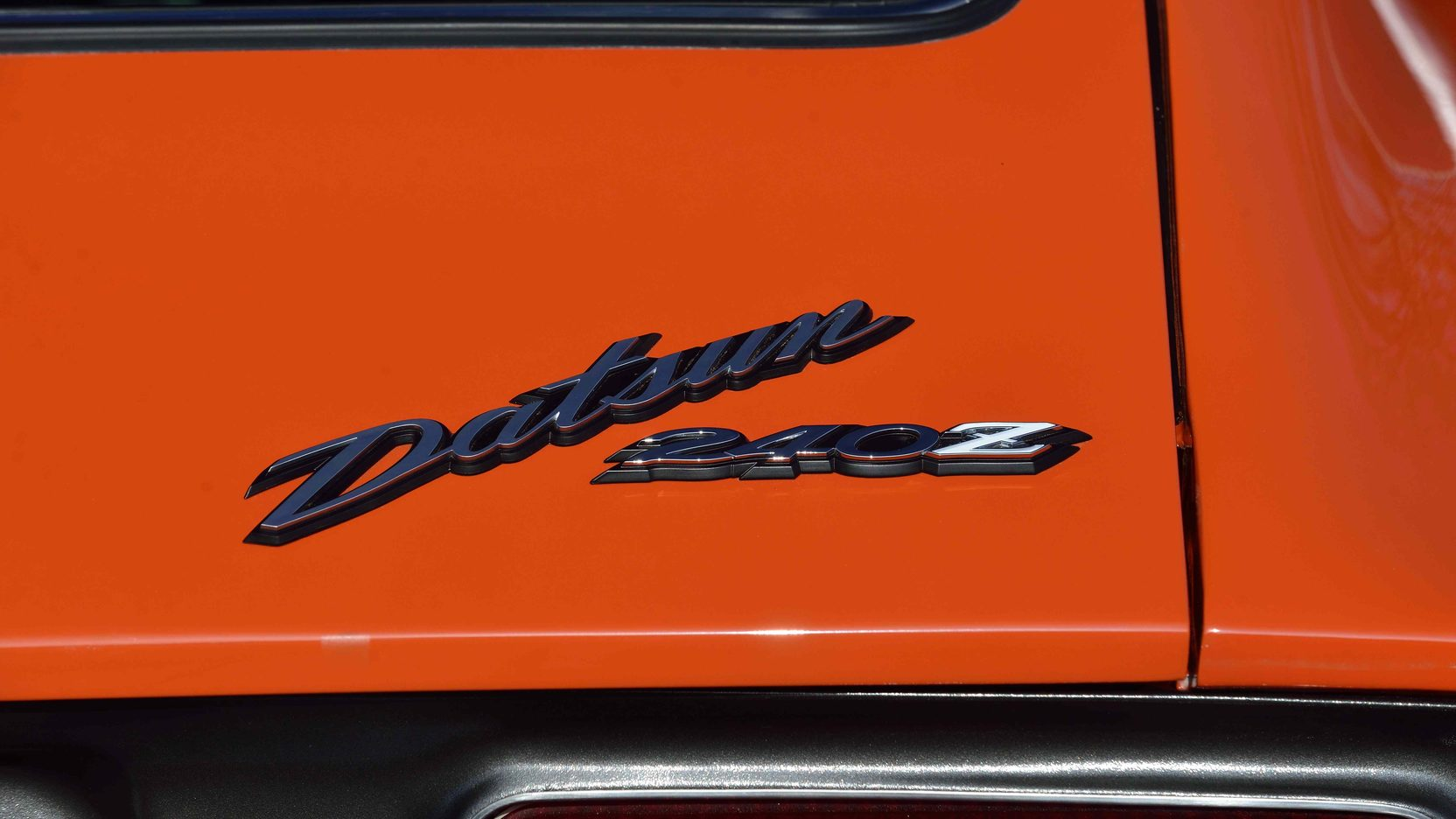 1973 Datsun 240Z badge