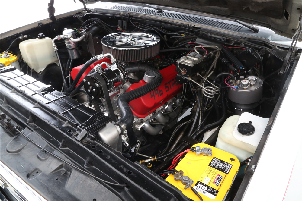 "1987 Chevrolet R30 Pickup ""Cannonball Run"" Re-creation engine 496 big block"