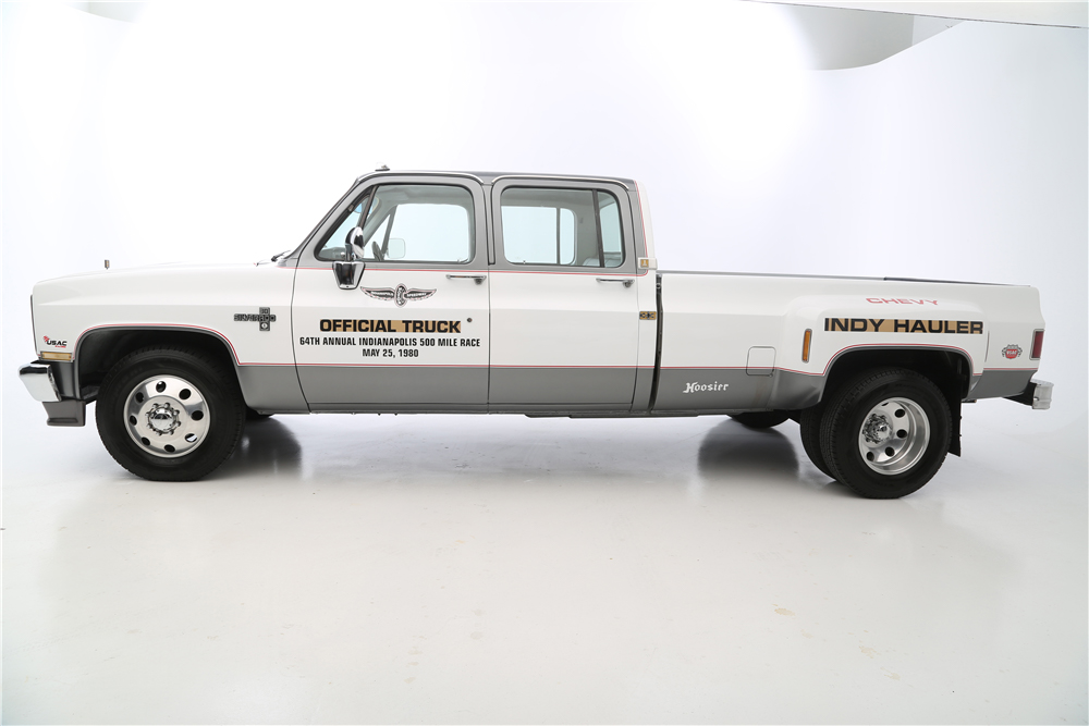 "1987 Chevrolet R30 Pickup ""Cannonball Run"" Re-creation side profile"