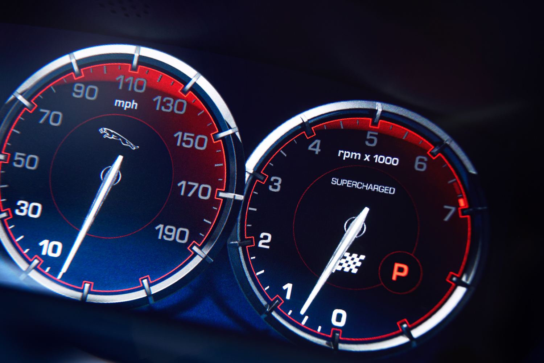 Jaguar gauge cluster mph