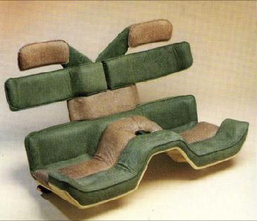Bertone Ramarro concept seats