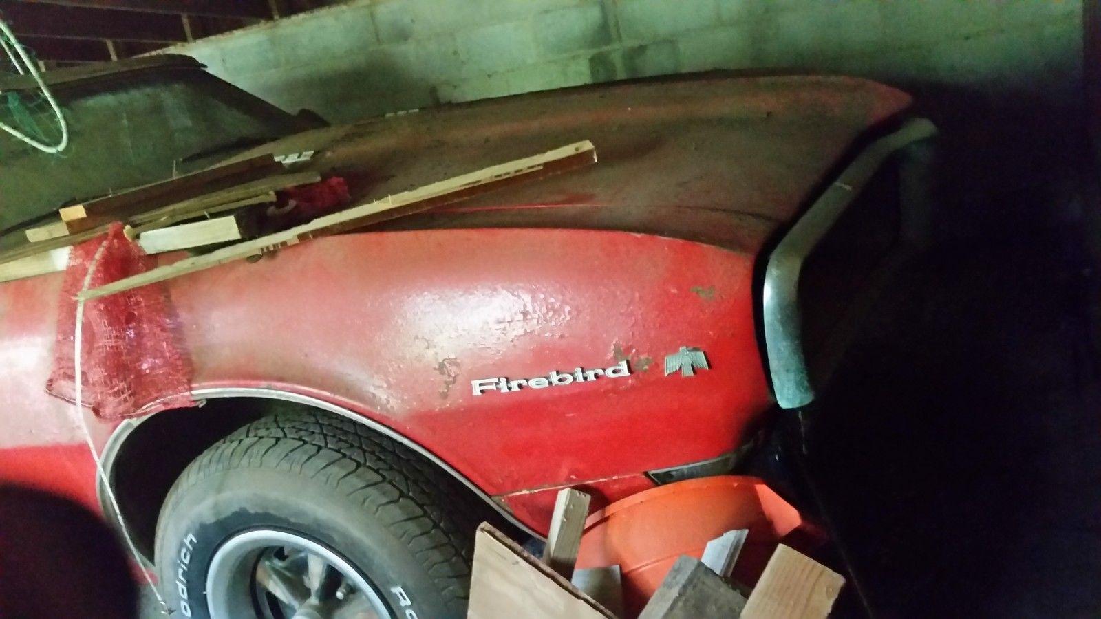 1968 Pontiac Firebird front quarter panel