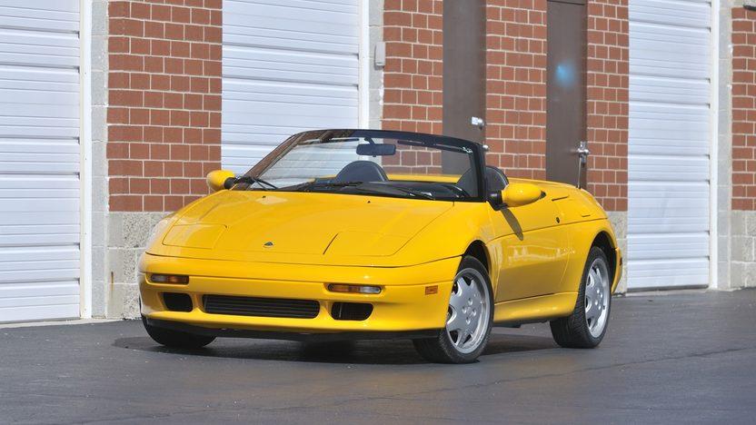 1991 Lotus Elan M100 front 3/4