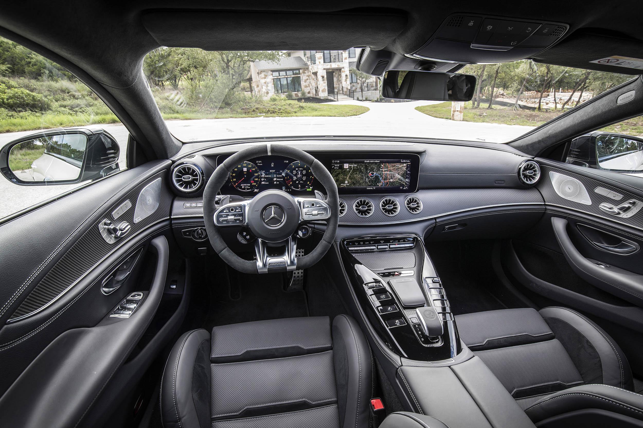 Mercedes-AMG GT 53 interior