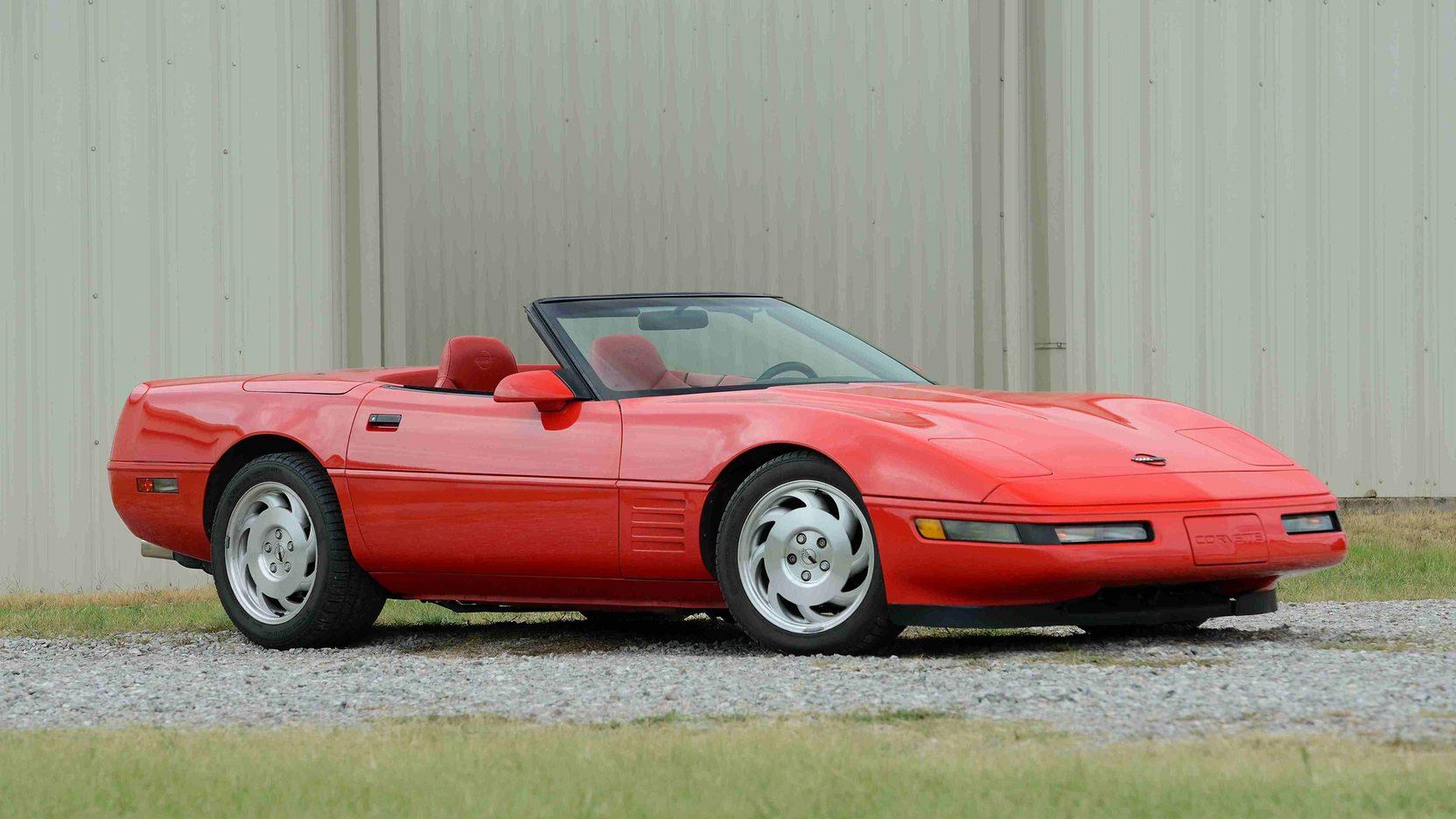 1994 Chevrolet Corvette front 3/4 c4