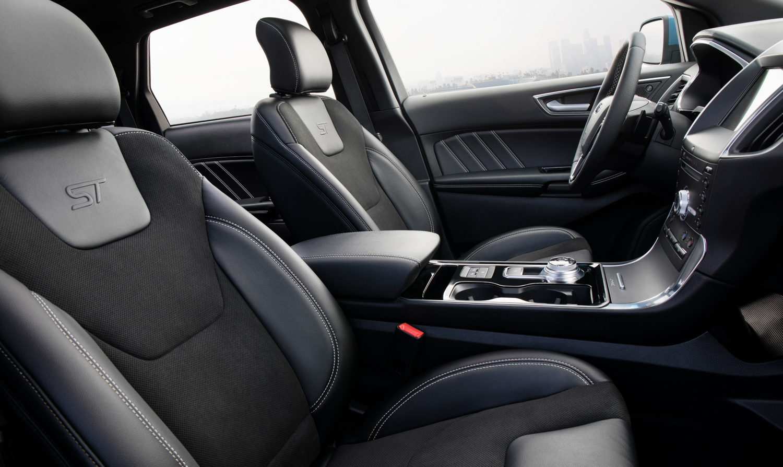 2019 Ford Edge ST interior seats