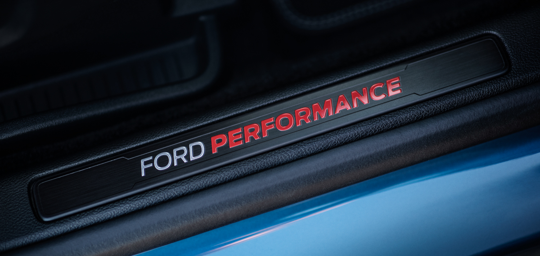 2019 Ford Edge ST kick plate door
