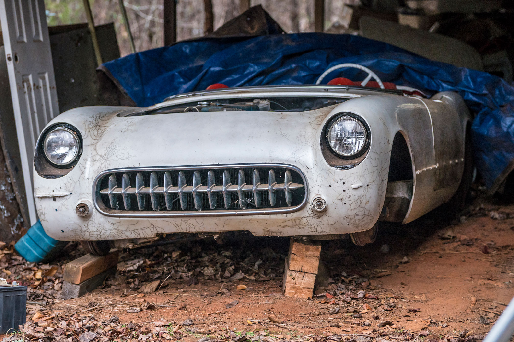 Barn Find Chevy C1 Corvette