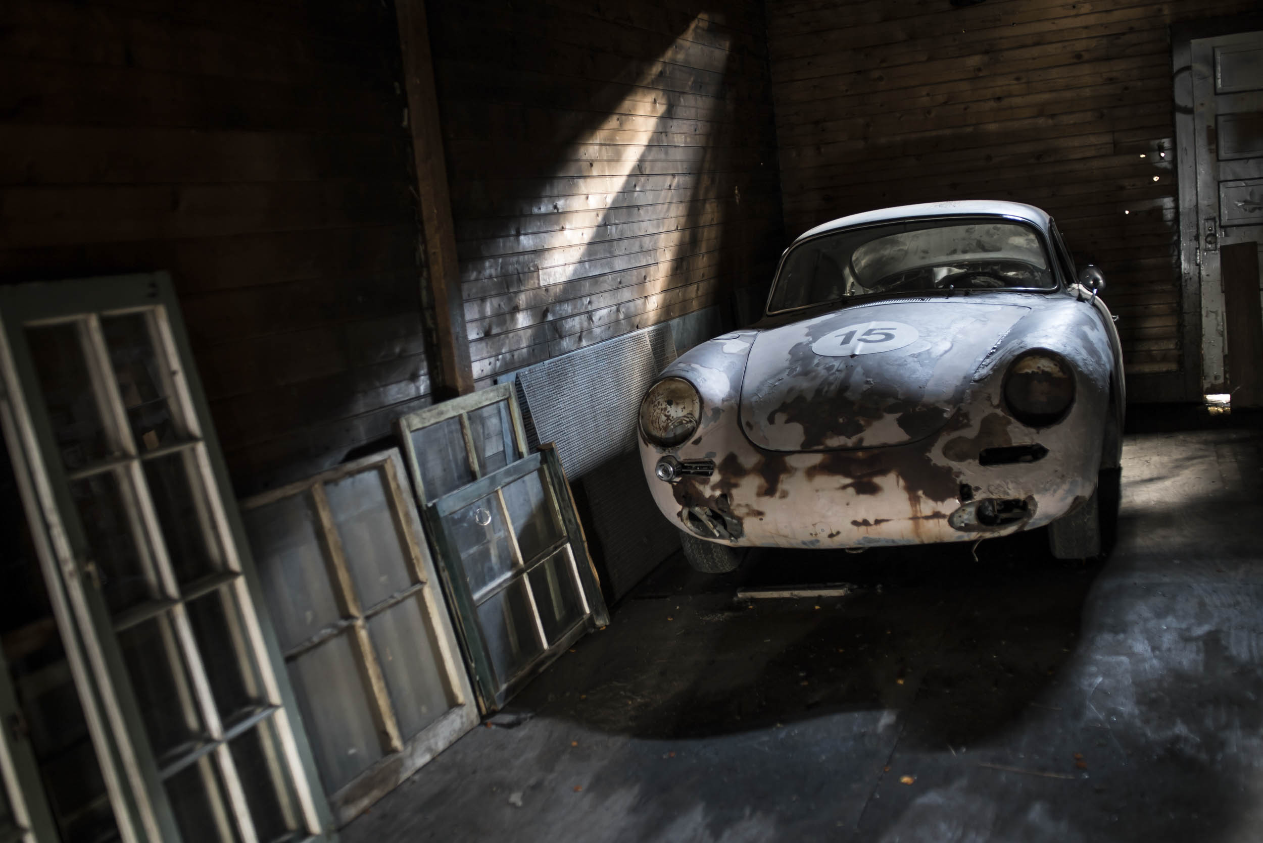 A Porsche 356C that has spent more than half its life above 10,000 feet in Leadville, Colorado, including a stint in a field, is remarkably well preserved, thanks to the dry air.