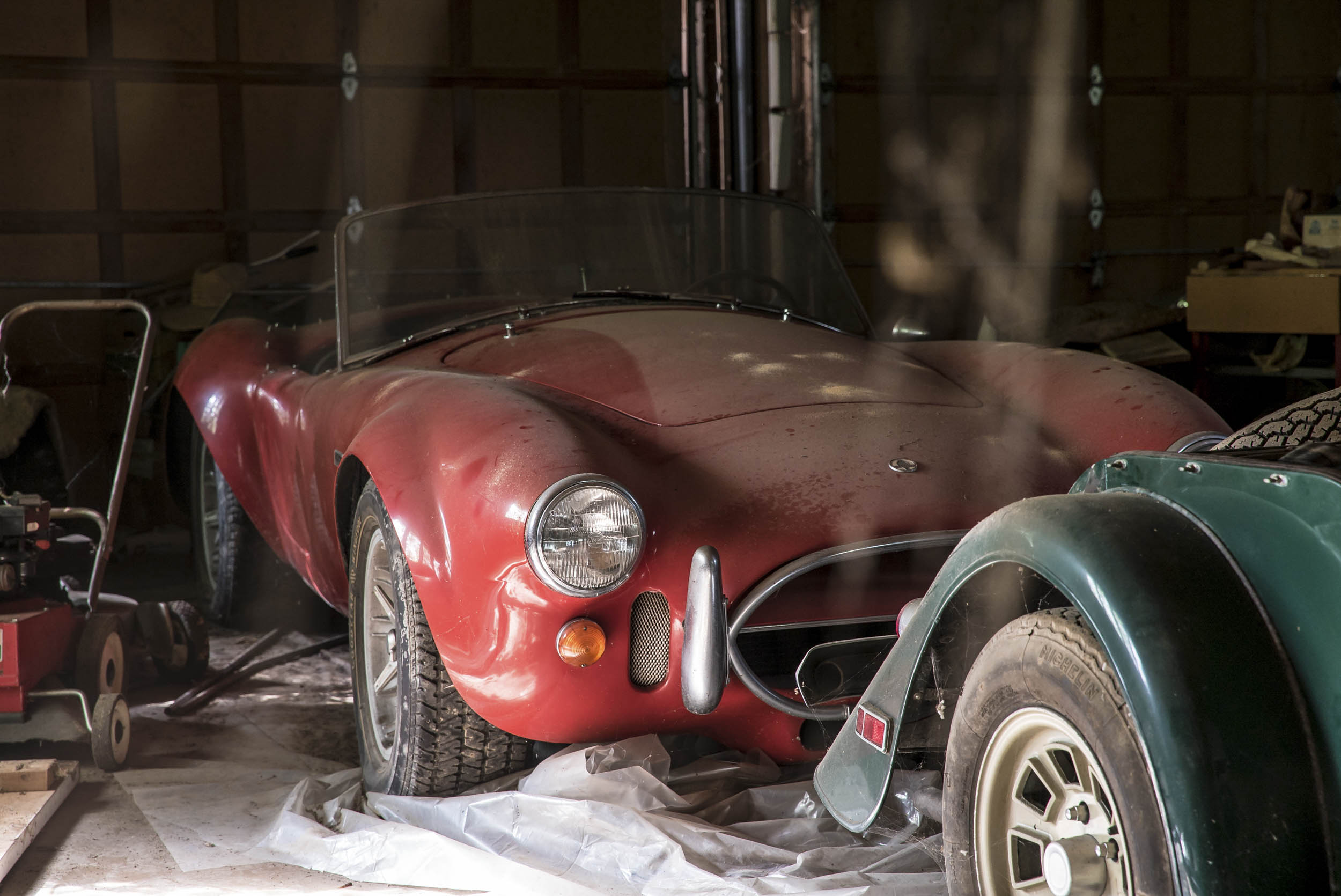 Barn Find Shelby Cobra