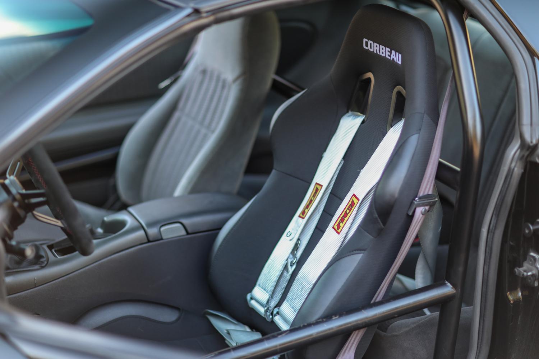 Heidts Suspension Camaro IRS front seats interior