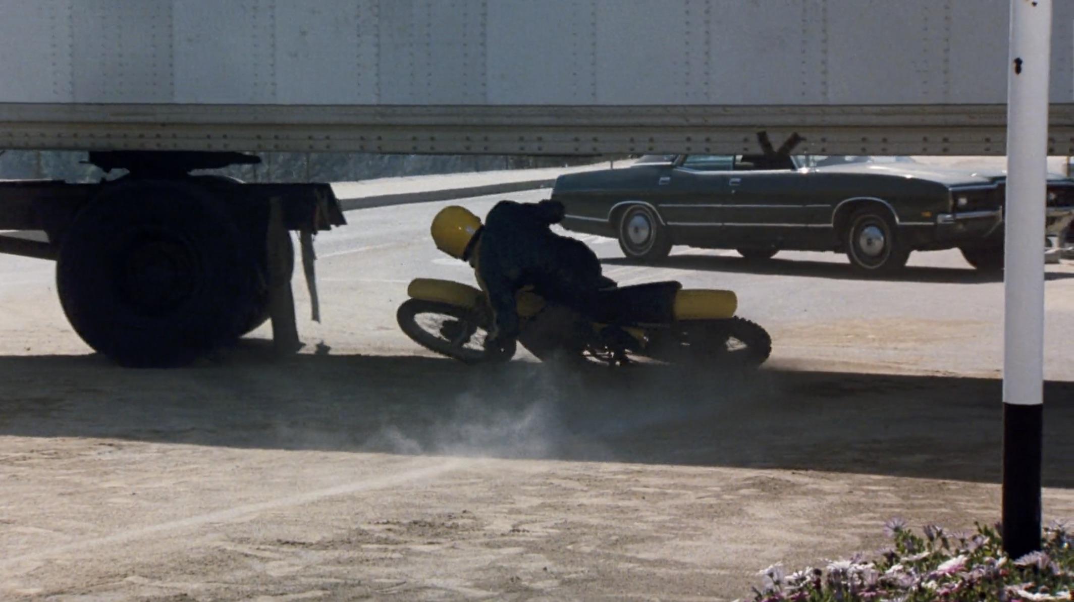 Burt Reynolds Hooper motorcycle slide