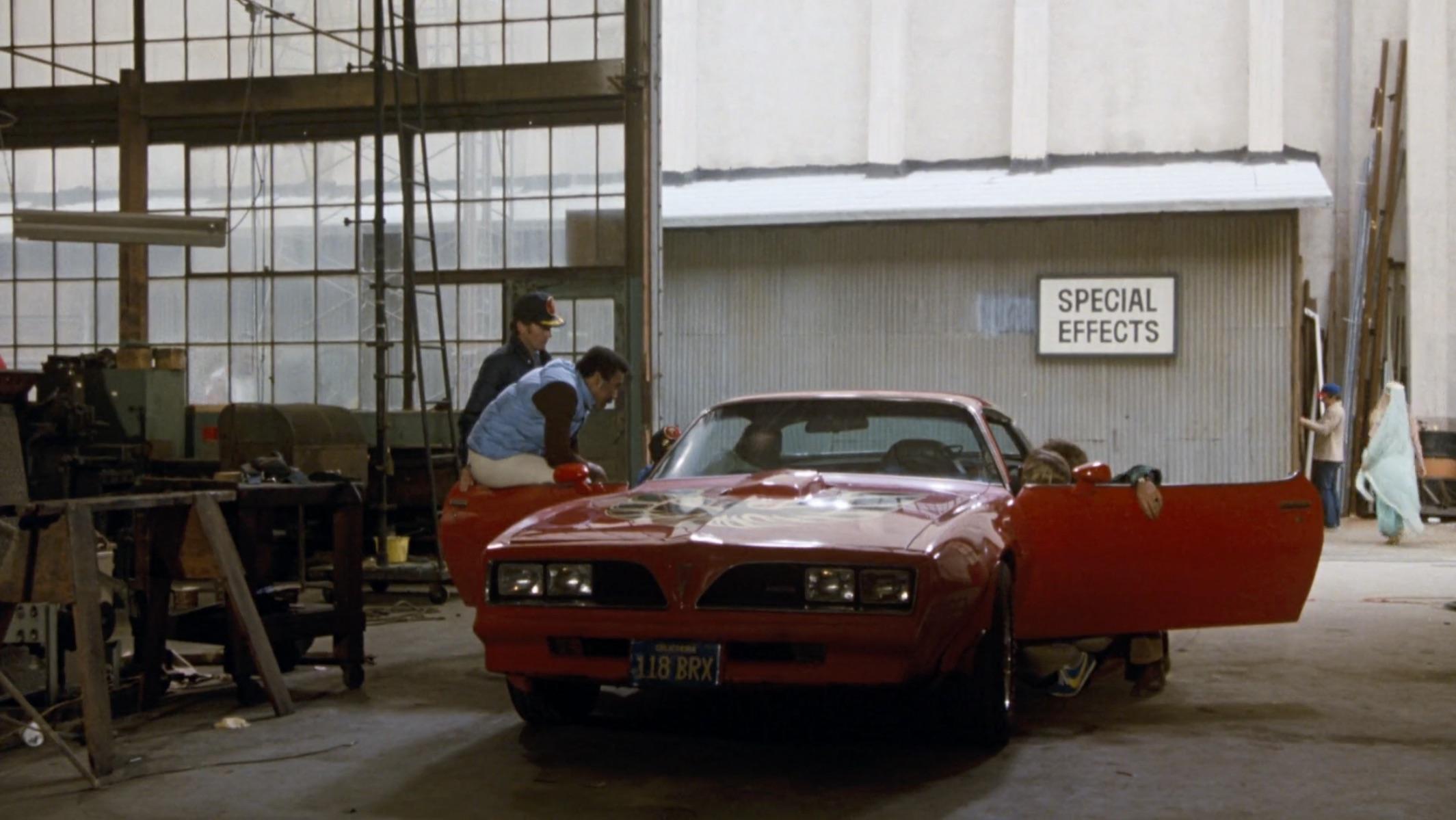 Burt Reynolds Hooper firebird formula