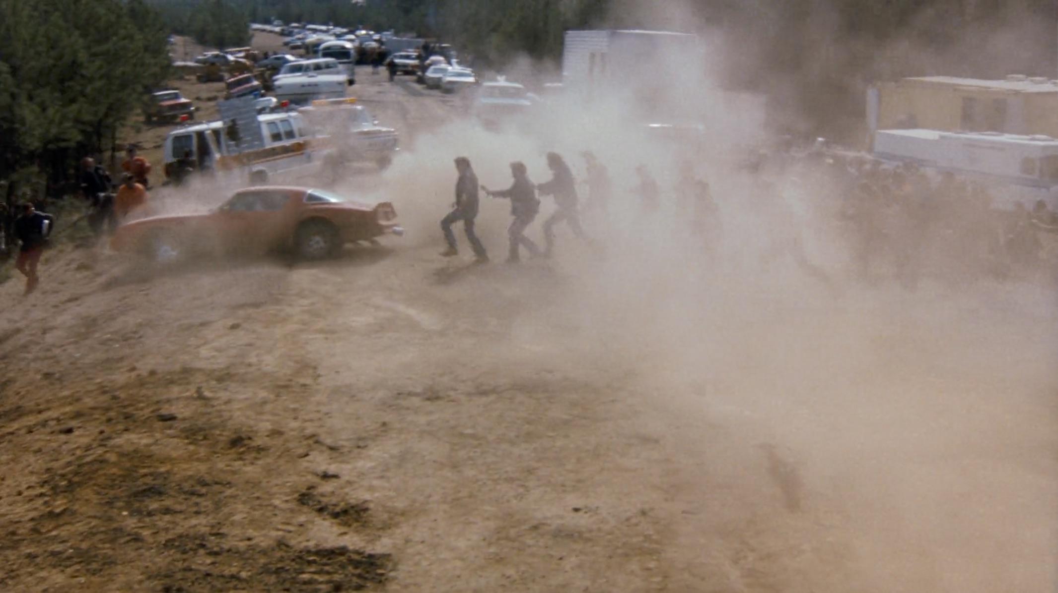 Burt Reynolds Hooper firebird landing