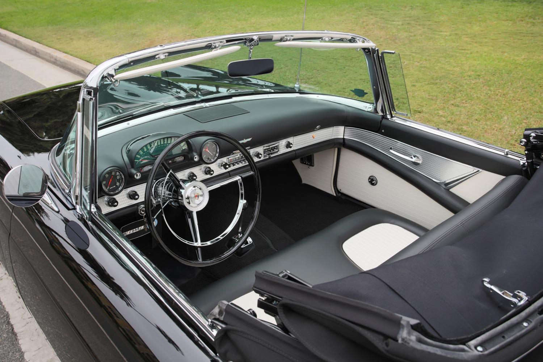 Marilyn Monroe's 1956 Ford Thunderbird interior