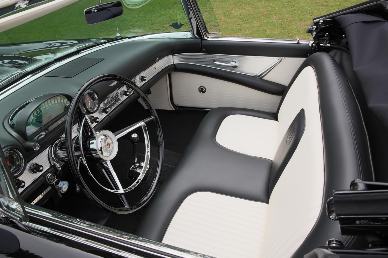 Marilyn Monroe's 1956 Ford Thunderbird seats interior