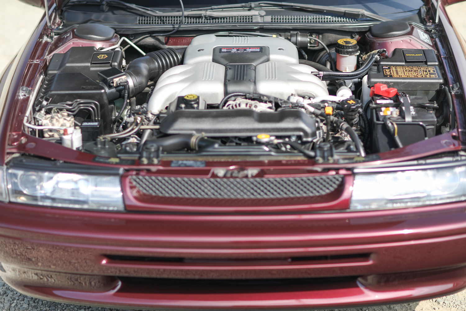 clarion builds 1992 subaru svx underhood engine