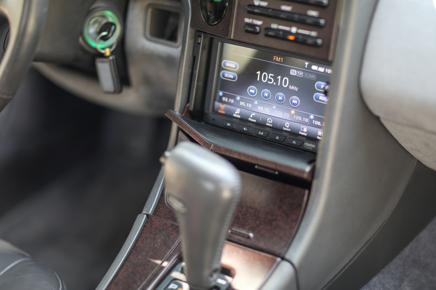 clarion builds 1992 subaru svx touch screen