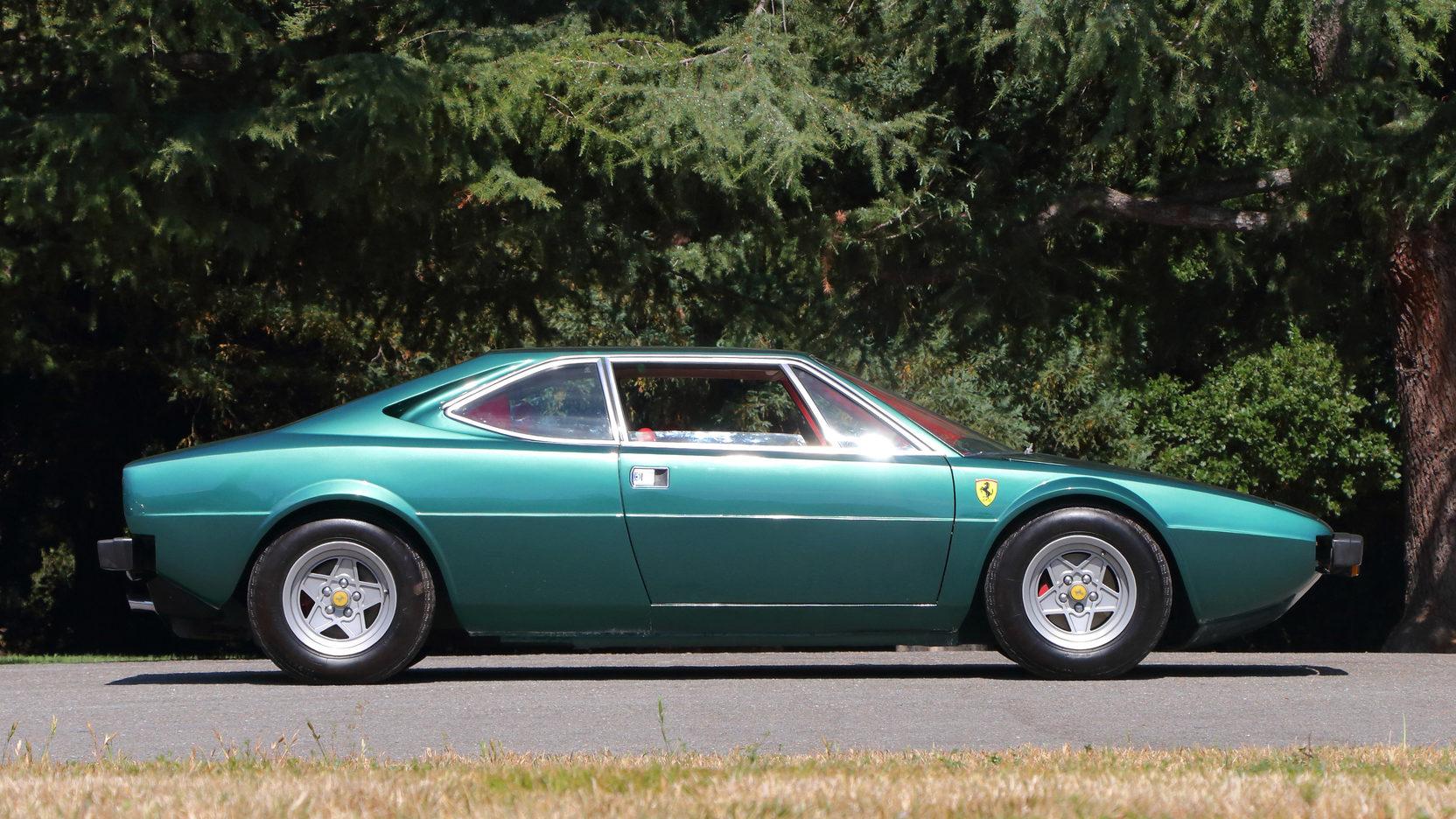 1975 Ferrari Dino 308 GT4 side profile