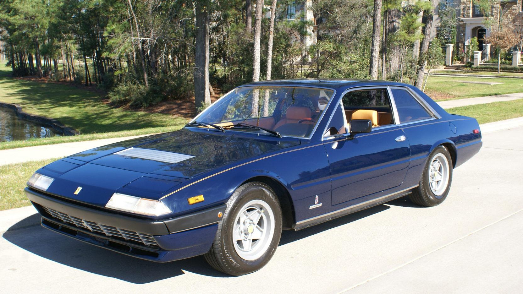 1981 Ferrari 400I front 3/4