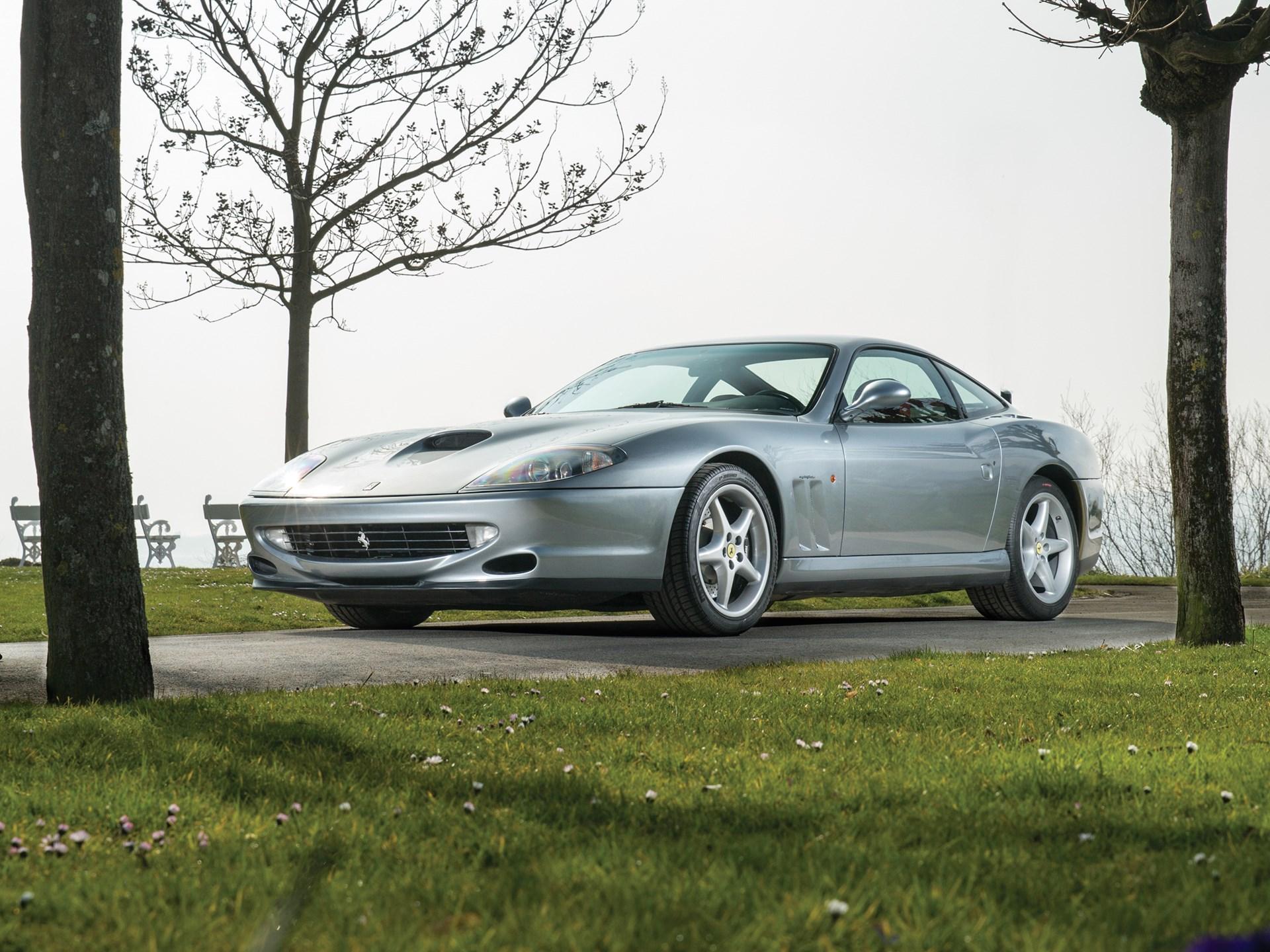 1998 Ferrari 550 Maranello front low 3/4