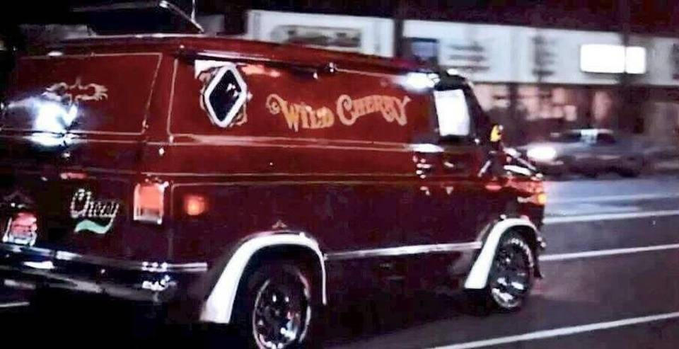 The Wild Cherry Van in Van Nuys Blvd