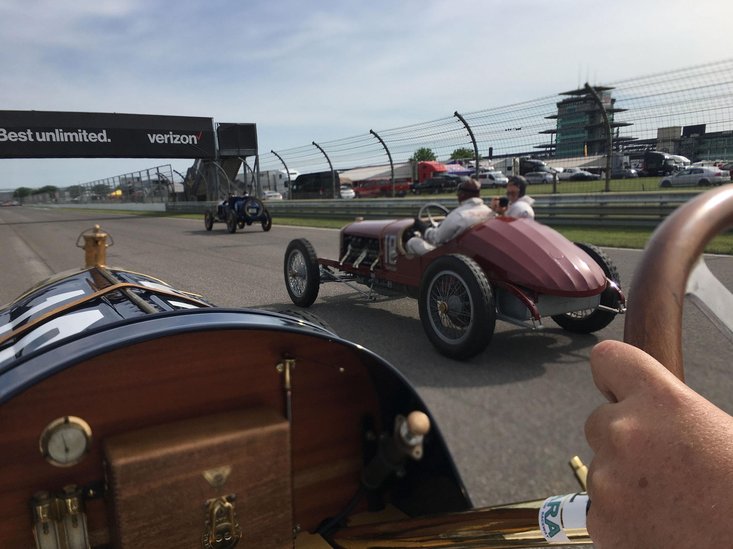 1916 Sturtevant-Auburn Romano Special driving