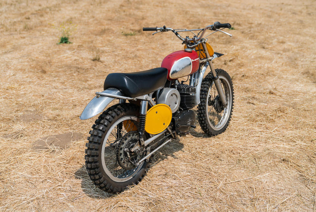 1970 Husqvarna 400 Cross owned and ridden by Steve McQueen in the film On Any Sunday