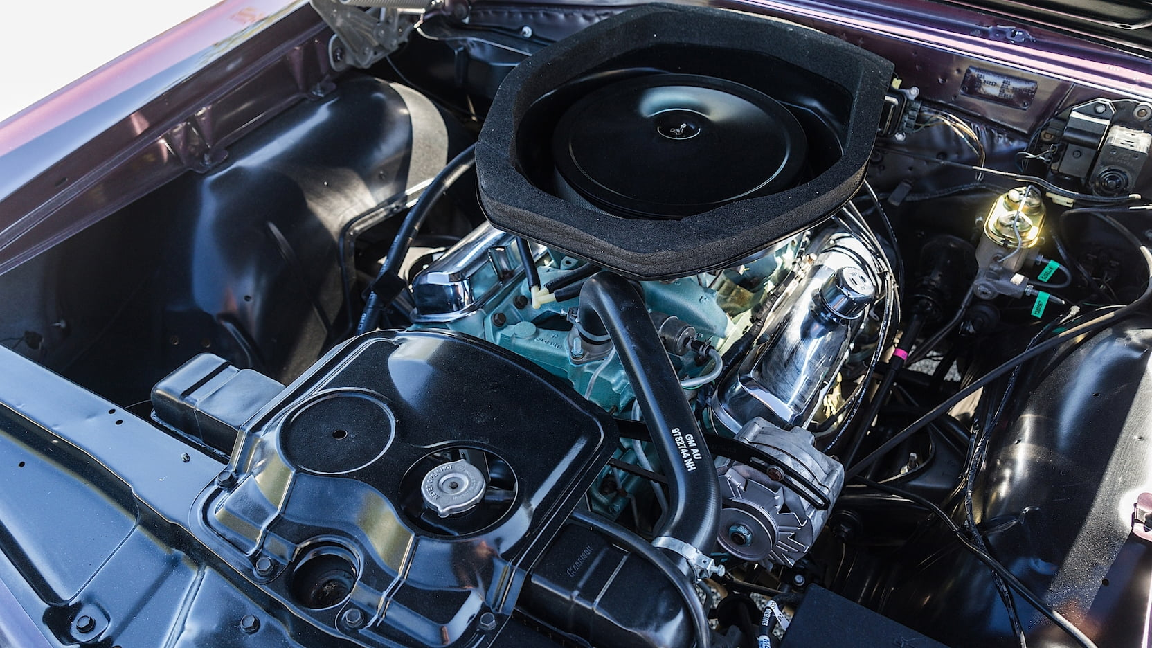 1967 Pontiac GTO engine