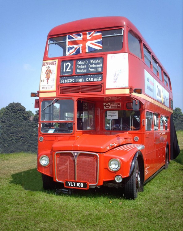 1959 Leyland Aec Routemaster Double Deck Bus By Park Royal
