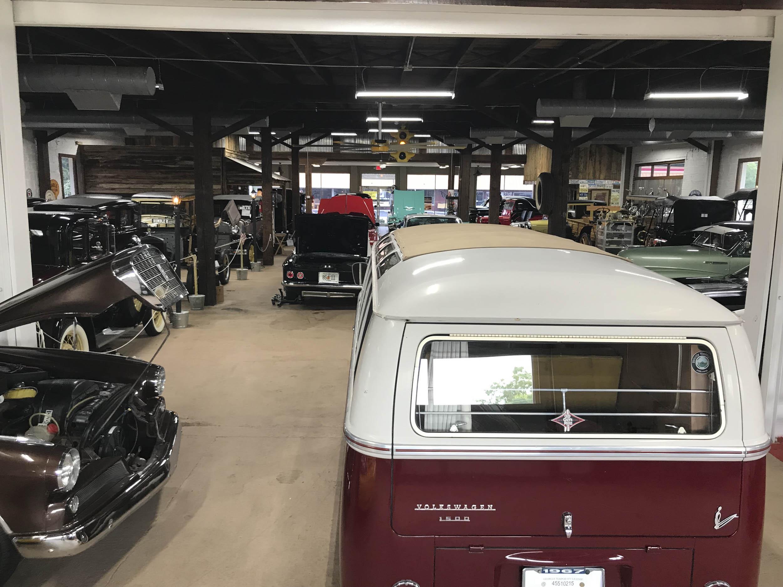 Miles Through Time auto museum Volkswagen 1500 van
