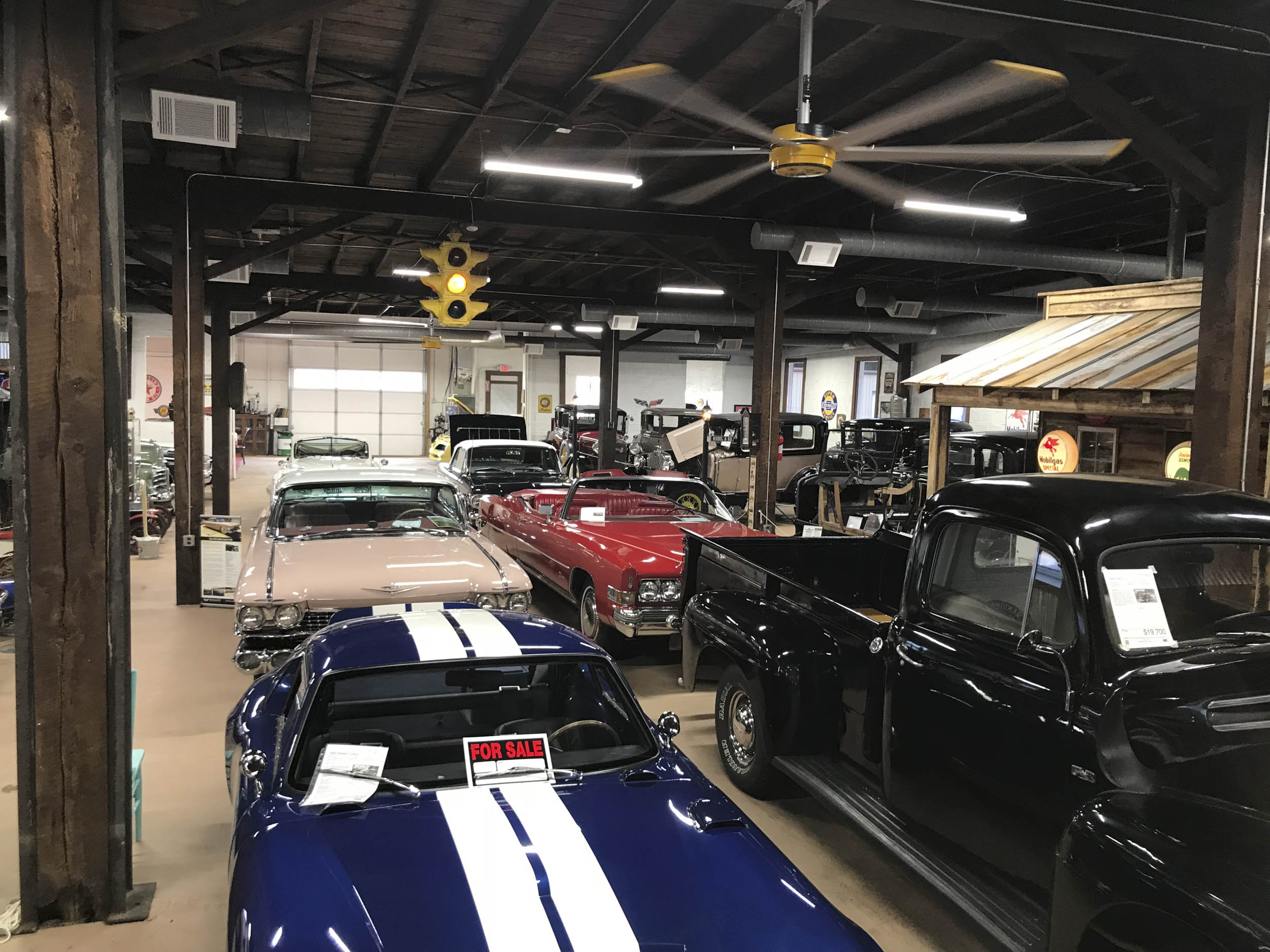 Miles Through Time auto museum in Toccoa car collection