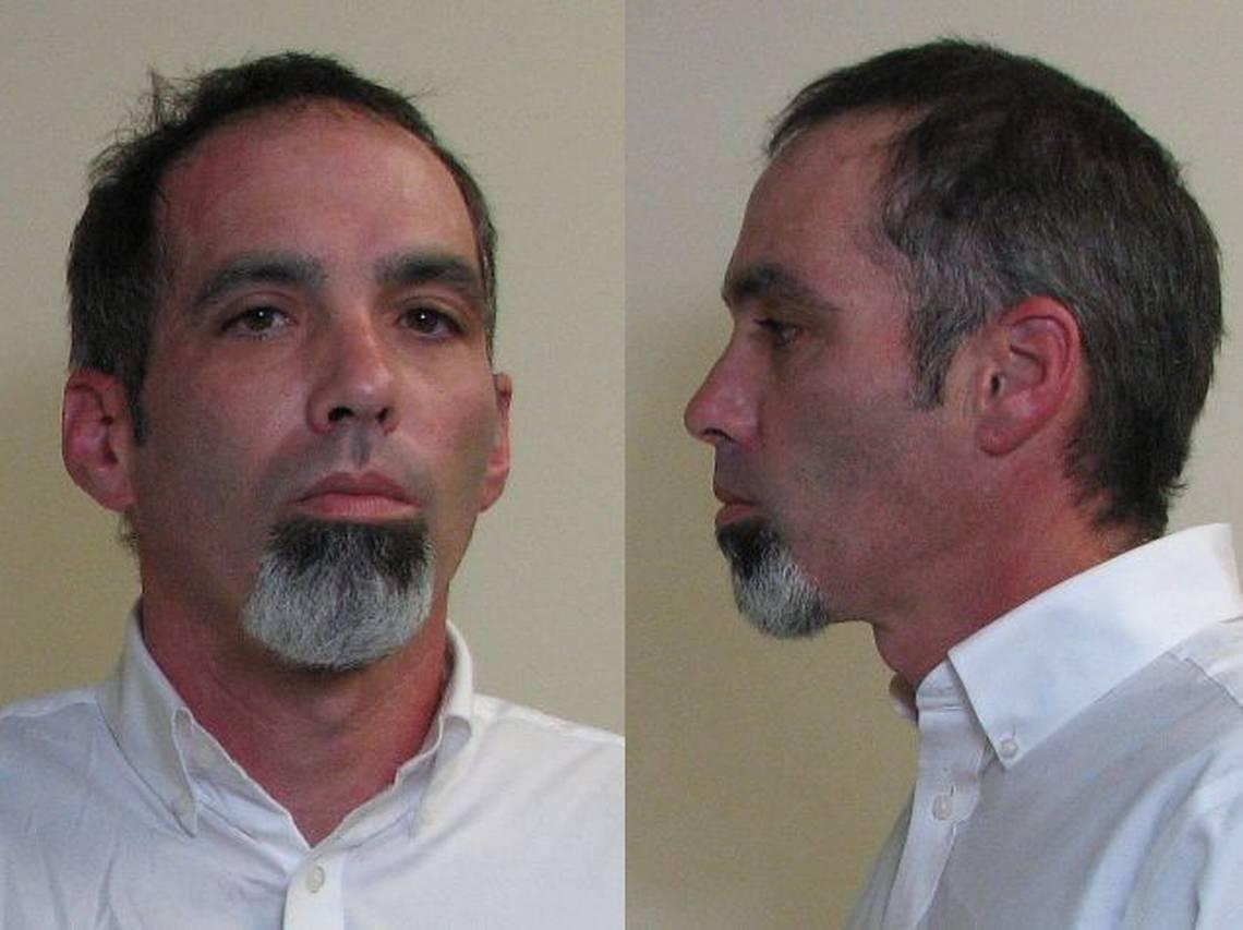 Chris Carter is now in Madison County Sheriff's Department custody wild cherry van