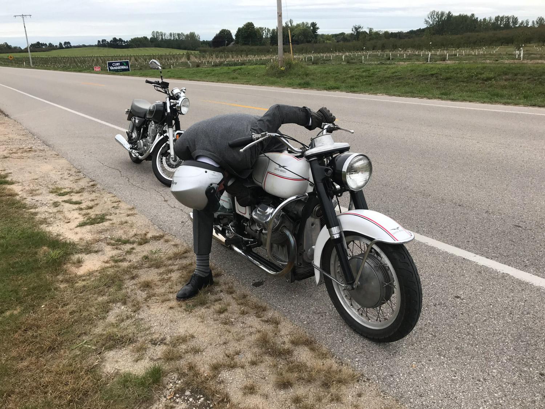 Distinguished Gentlemen Ride moto guzzi issues